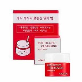 Бальзам Для Снятия Макияжа С Экстрактом Розы About Me Red-Recipe Cleansing Milky Balm 8ml