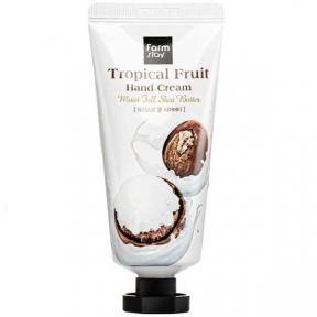 Крем для рук увлажняющий с маслом ши FarmStay Tropical Fruit Hand Cream Moist Full Shea Butter 50ml