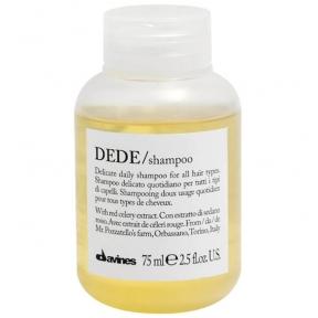 Шампунь безсульфатный для волос Davines Dede Shampoo (Travel Size) 75ml
