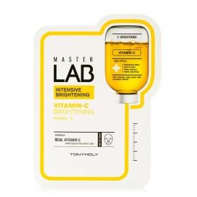 Профессиональная Осветляющая Маска С Витамином С Tony Moly Master Lab Vitamin C Mask 30ml