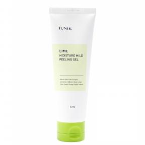 Пилинг-гель с комплексом фруктовых кислот IUNIK Lime Moisture Mild Peeling Gel IUNIK 120ml