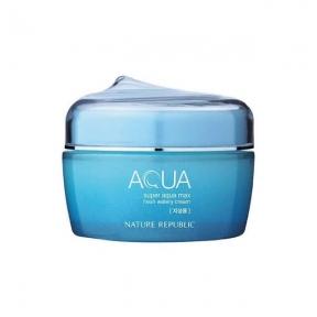 Крем Увлажняющий Для Жирной Кожи Nature Republic Super Aqua Fresh Watery Cream 80ml