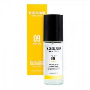 Парфюм для одежды и белья с ароматом манго W.DRESSROOM Dress & Living Clear Perfume No.09 Gogo Mango 70ml