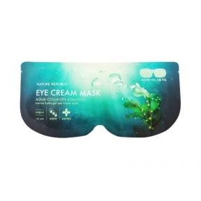 Маска Гидрогелевая Для Области Глаз С Коллагеном Nature Republic Aqua Collagen Solution Hydrogel Eye Cream Mask