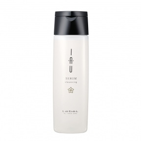 Аромашампунь для придания блеска и увлажнения волос Lebel IAU Serum Cleansing 200ml