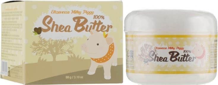 Крем-бальзам для лица универсальный с маслом ши Elizavecca Face Care Milky Piggy Shea Butter 100%  88ml