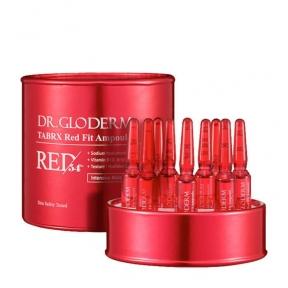 Ампулы с антивозрастной эссенцией DR.GLODERM TABRX Red Fit Ampoule 2mlx10