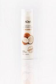 Лосьон для рук и тела с экстрактом кокоса Aomi Extra gentle Hand & Body Lotion - Coconut 250 ml