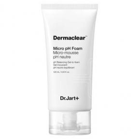Пенка-Гель С Глутатионом Dr.Jart Dermaclear Micro pH Foam Micro-mousse Для Чувствительной И Жирной Кожи 120ml