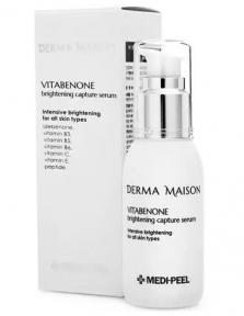 Сыворотка для лица антиоксидантная с идебеноном MEDI-PEEL Derma Maison Vitabenone Brightening Capture Serum 50ml