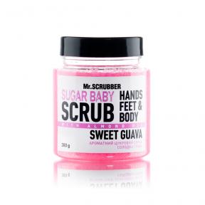 Скраб сахарный с ароматом гуавы для тела Mr.Scrubber Sugar Baby Sweet Guava 300g