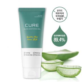 Гель для интенсивного успокоения кожи с экстрактом алоэ Kim Jeong Moon Aloe Ra Sence Loe Cure Aloe Soothing Gel 150ml