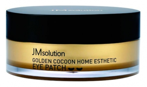 Гидрогелевые омолаживающие патчи с золотом JM solution Golden Cocoon Home Esthetic Eye Patch 60шт