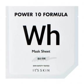Маска тканевая осветляющая для сияния кожи с ниацинамидом It's Skin Power 10 Formula WH Mask Sheet 25ml