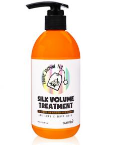 Шампунь с кератином для волос SUMHAIR Silk Volume Shampoo Fruits Jasmine Tea 300ml
