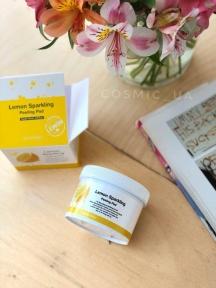 Пилинг-Диски С Экстрактом Лимона И BHA Кислотой Secret Key Lemon Sparkling Peeling PAD
