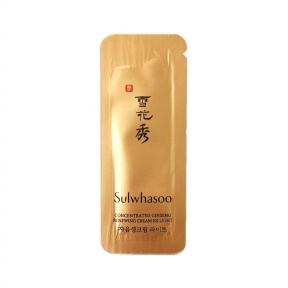 Крем омолаживающий с экстрактом женьшеня Sulwhasoo Concentrated Ginseng Renewing Cream EX Light 5ml