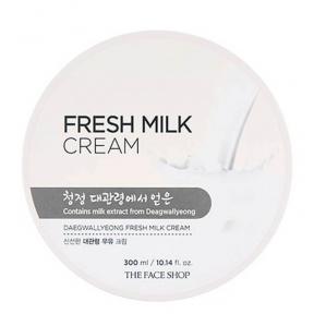 Крем Для Лица И Тела С Молочными Протеинами The Face Shop Daegwallyeong Fresh Milk Cream