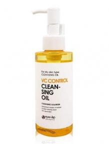 Масло гидрофильное двухфазное с фруктовыми экстрактами для лица Eyenlip VC control cleansing oil 150ml