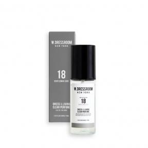 Парфюм с древесным ароматом для одежды и белья W.DRESSROOM Clear Perfume No.18 (Gentleman Code) 70ml