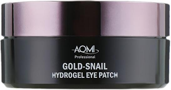 Патчи гидрогелевые  с муцином улитки и коллоидным золотом Aomi Gold-Snail Hydrogel Eye Patch 60шт