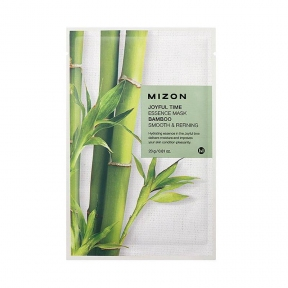 Маска успокаивающая с экстрактом бамбука Mizon Joyful Time Essence Mask Bamboo Smooth & Refining 23ml