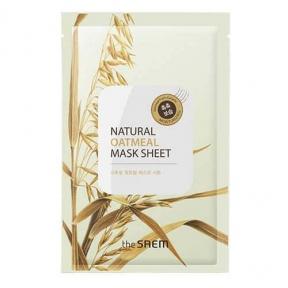 Маска Увлажняющая С Экстрактом Овса The Saem Natural Oatmeal Mask Sheet 21ml
