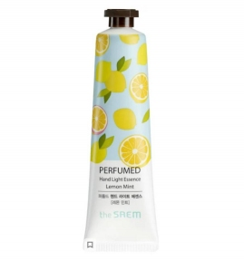 Крем - Эссенция Для Рук С Экстрактом Лимона И Мяты The Saem Perfumed Hand Light Essence Lemon Mint