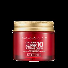 Крем Ночной Для Лица Омолаживающий С Коллагеном Для Уплотнения Кожи MEDI-PEEL Collagen Super 10 Sleeping Cream 70ml