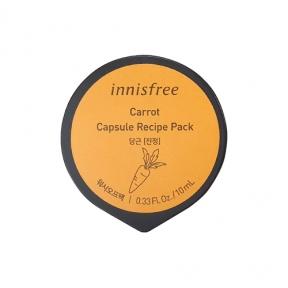 Маска ночная питательная с экстрактом моркови  Innisfree  Capsule Recipe Pack Carrot 10ml