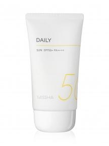 Солнцезащитный крем с экстрактом портулака Missha  All-Around Safe Block Daily Sun SPF50+ PA++++ 50ml