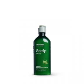 Кондиционер бессиликоновый укрепляющий ежедневный для волос Aromatica Rosemary Hair Thickening Conditioner 400ml