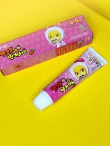 Зубная Паста Детская С Экстрактом Клубники Median Calcium (Strawberry) Cocomong