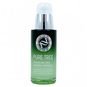 Успокаивающая сыворотка с экстрактом чайного дерева Enough Pure Tree Balancing Pro Calming Ampoule 30ml