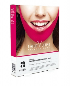 Маска Для Коррекции Овала Лица AVAJAR PERFECT V LIFTING PREMIUM MASK