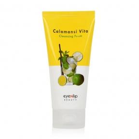 Пенка для умывания с экстрактом каламанси для лица Eyenlip CALAMANSI VITA CLEANSING FOAM 120ml