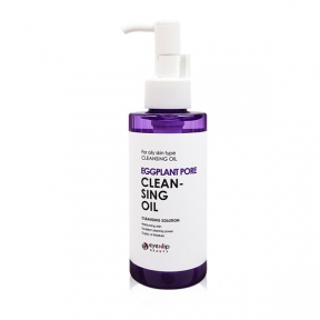 Масло гидрофильное двухфазное с экстрактом баклажана для лица Eyenlip Eggplant pore cleansing oil 150ml