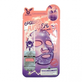 Маска тканевая осветляющая с экстрактом лимона  Elizavecca Power Ringer Mask Pack Fruits Deep 23ml