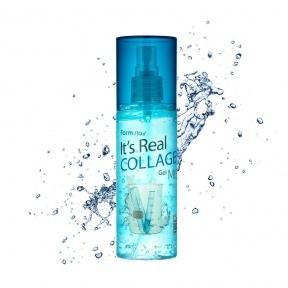 Мист омолаживающий с  коллагеном Farmstay It'S Real Collagen Gel Mist 120ml