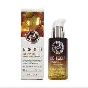 Восстанавливающая сыворотка с компонентами золота Enough Rich Gold Intensive Pro Nourishing Ampoule 30ml