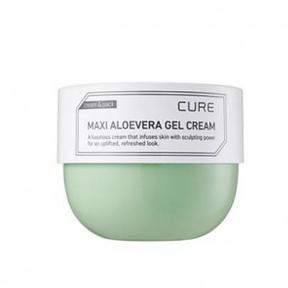Крем-гель успокаивающий с экстрактом алоэ Kim Jeong Moon Cure Maxi Aloevera Gel Cera 250 ml