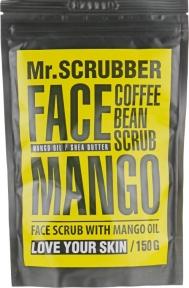 Скраб кофейный с ароматом манго для лица Mr.Scrubber Mango 150ml