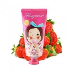Увлажняющий Крем Для Рук С Экстрактом Клубники Fascy Moisture Hand Cream Strawberry