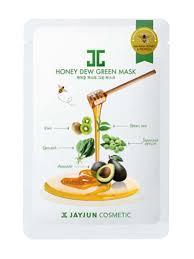 Маска С Экстрактом Зеленого Чая И Мёда JAYJUN Honey Dew Real Green Mask
