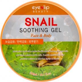 Гель для лица и тела успокаивающий с муцином улитки Eyenlip Snail Soothing Gel 300ml
