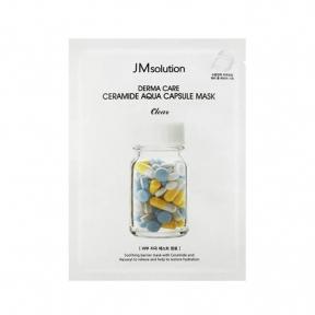 Маска тканевая восстанавливающая с керамидами JM solution Derma Care Ceramide Aqua Capsule Mask 30ml