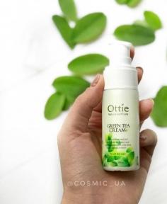 Крем Увлажняющий Тонизирующий С Экстрактом Зеленого Чая Ottie Green Tea Cream