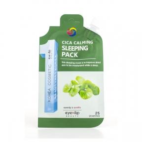 Маска ночная успокаивающая с центеллой для лица Eyenlip CICA CALMING SLEEPING PACK 25ml
