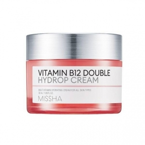Крем Супер Увлажняющий С Витаминами MISSHA Vitamin B12 Double Hydrop Cream 50ml
