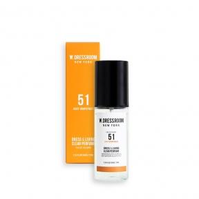 Парфюмированная вода для одежды и белья с ароматом грейпфрута W. Dressroom Dress & Living Clear Perfume No.51 Juicy Grapefruit 70ml